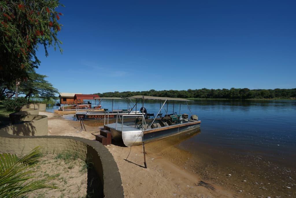 Hakusembe River lodge by Michael Bonocore