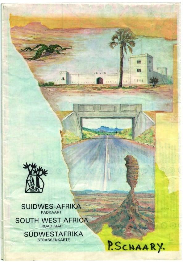 Namibia street map