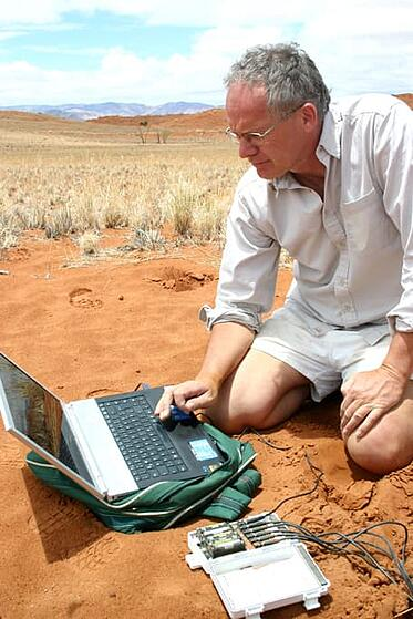 Professor Norbert Jürgens visited Namib Desert Lodge for research purposes several times during the past years.