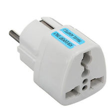 European adaptor - Image: www.ebay.com.au