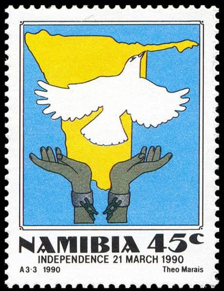 stamps_namibia_independence