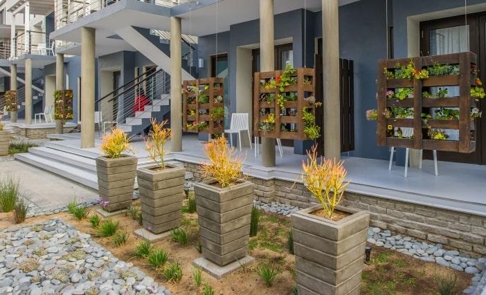 Gardening at The Delight Swakopmund Hotel