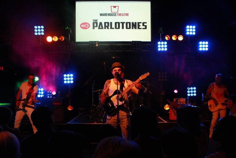 The Parlotones performing live at the Warehouse Theatre. Photo: Namlish Media cc