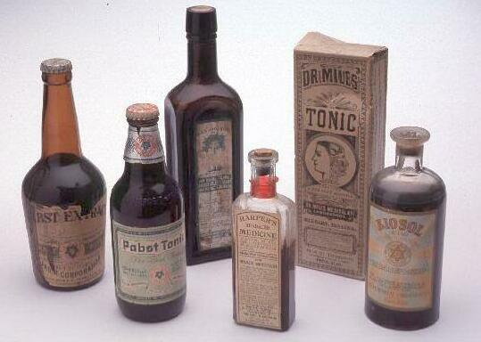 Tonic bottles