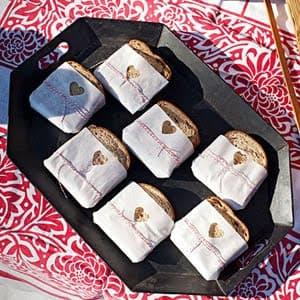 valentines day sandwiches