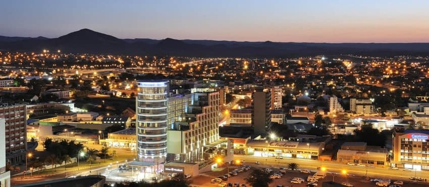 Windhoek city - Image: Why Namibia