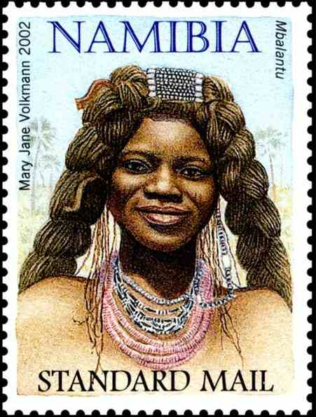 Mbalantu, issued in 1997, artist: Mary Jane Volkmann