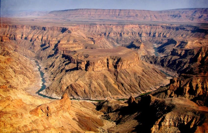 The Fish River Canyon - Image: www.host-namiba.com