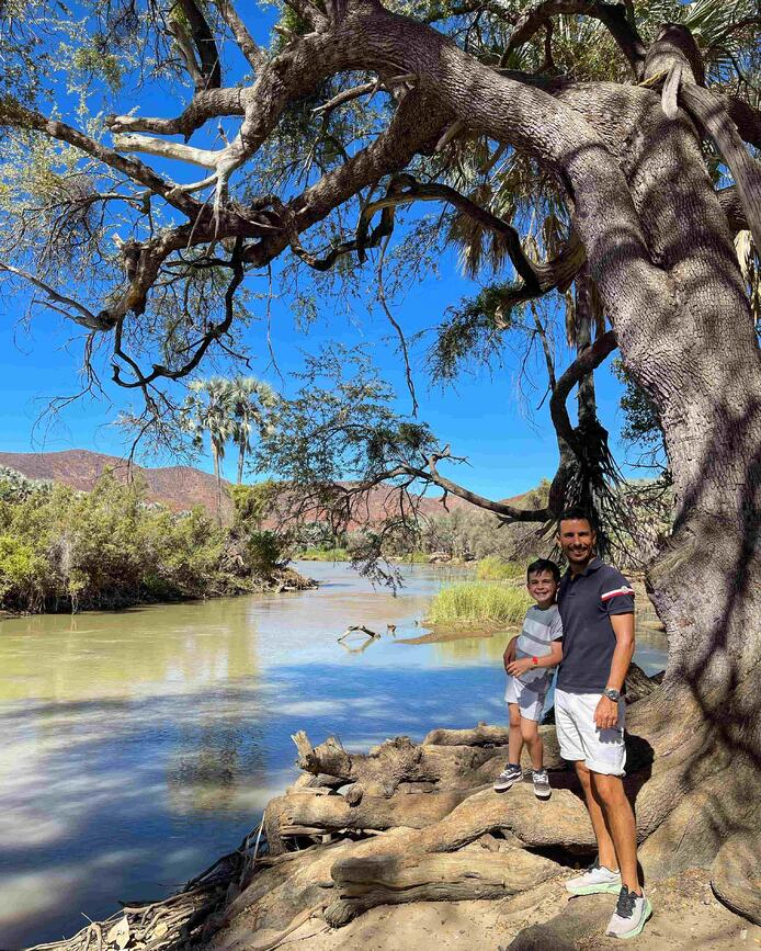 River rafting in Omarunga Epupa-Falls