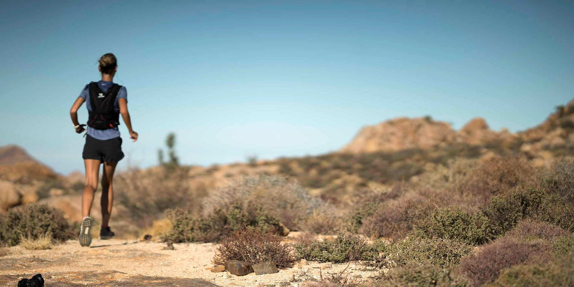 Marathon in Namibia