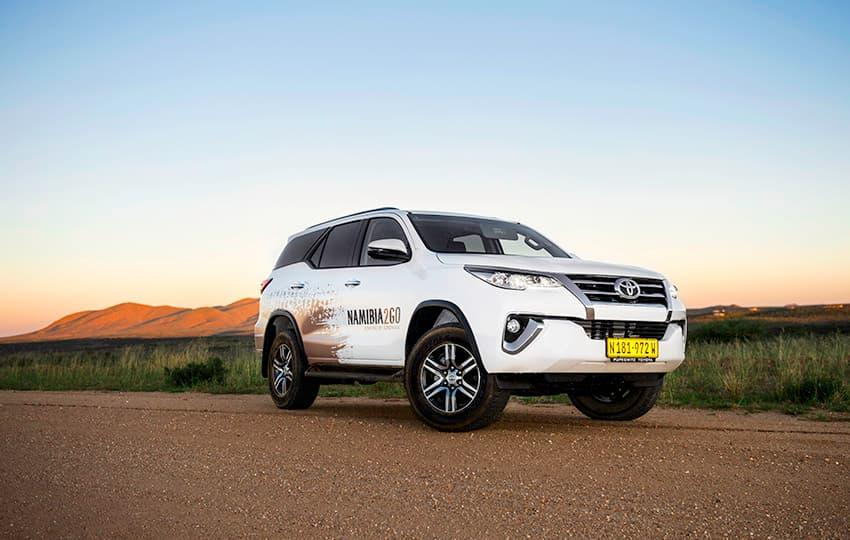Rental cars in Namibia