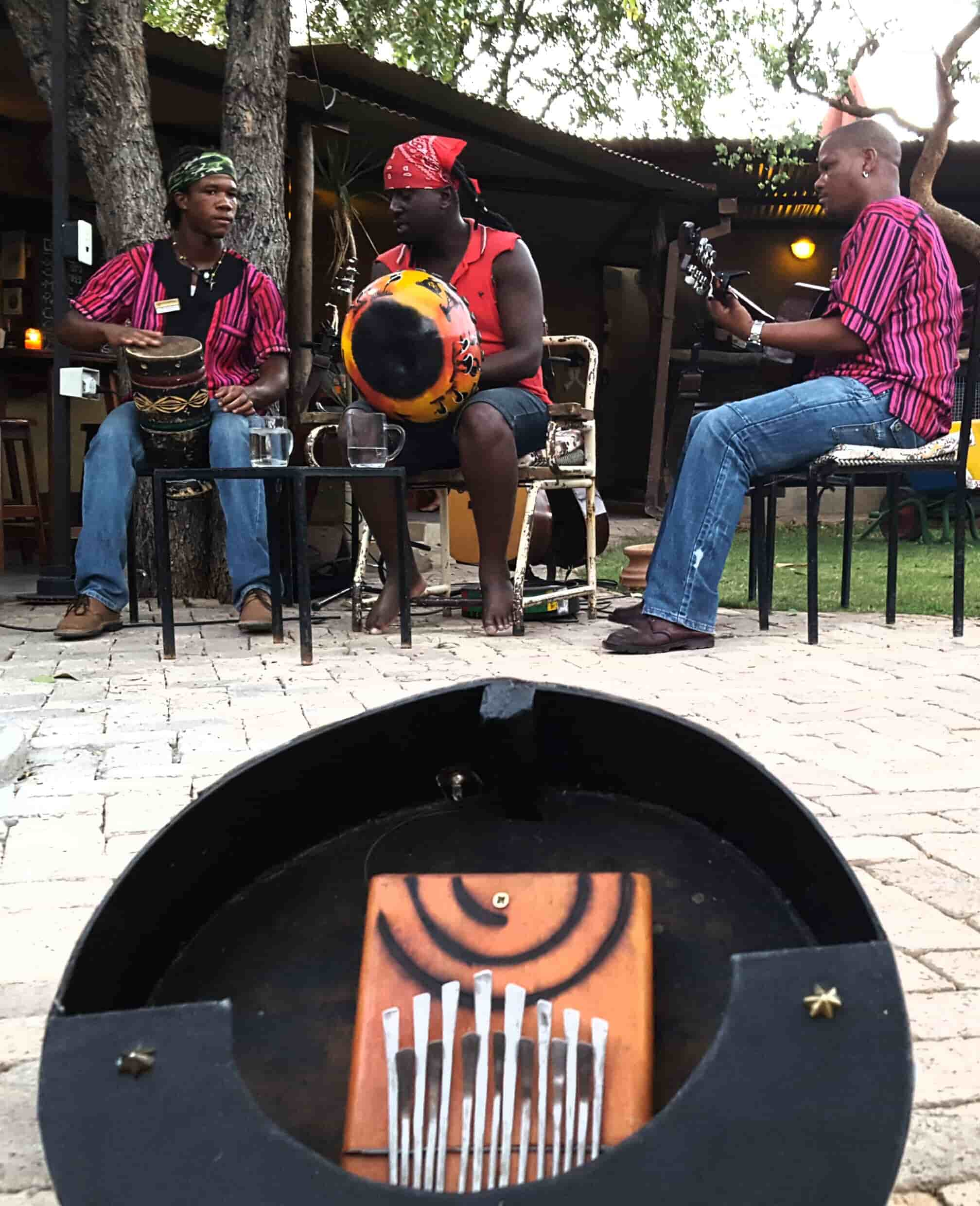 Mbira is considered to be a true African instrument