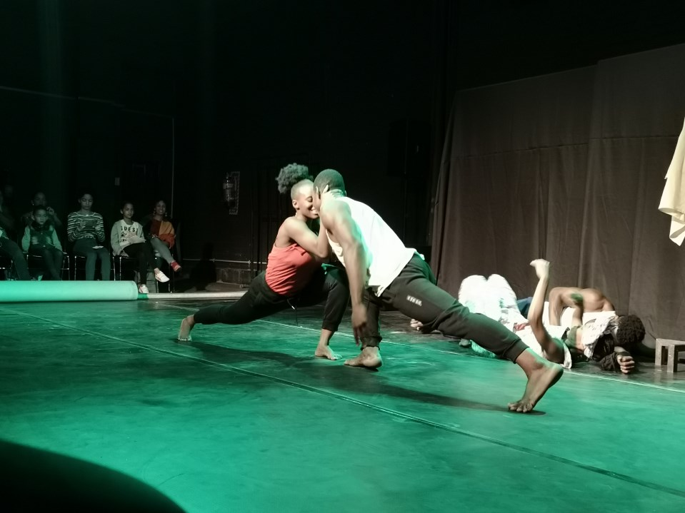 Dancing into the hearts of Namibian youth