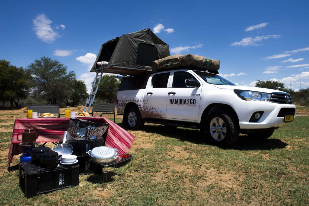 Which outdoor activities should you do when in Namibia?