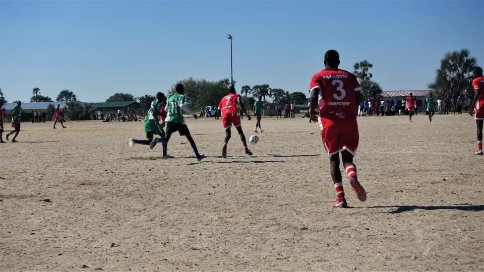 Does Namibia even have Soccer World Cup Excitement?