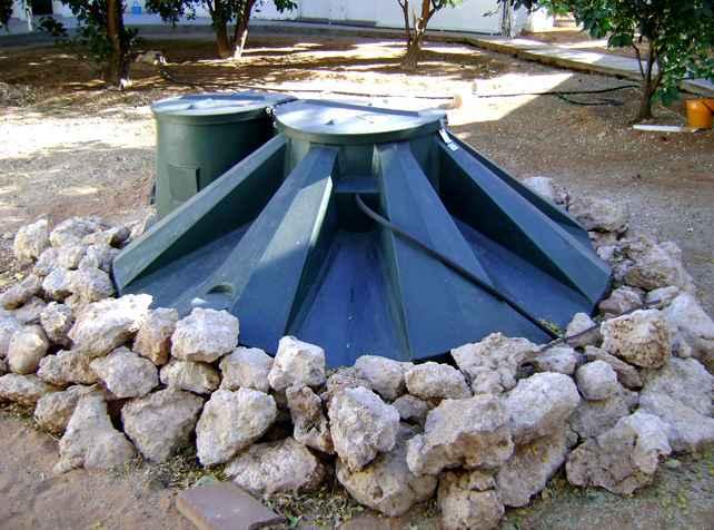 Kalahari Farmhouse cooks with Biogas