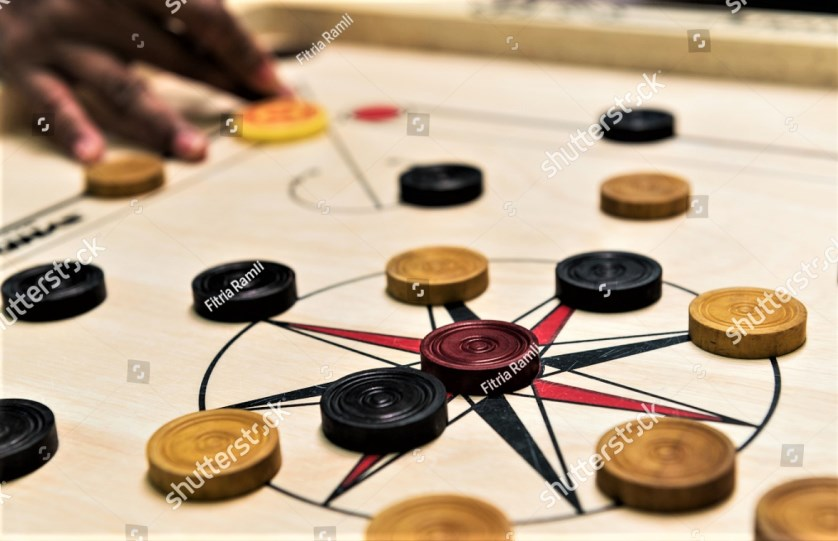 Do you remember playing carrom or finger board in Namibia?