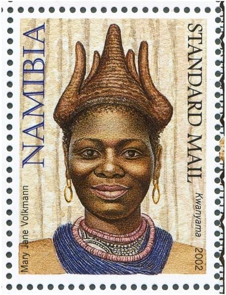 Kwanyama issued in 2002 mary jane volkmann