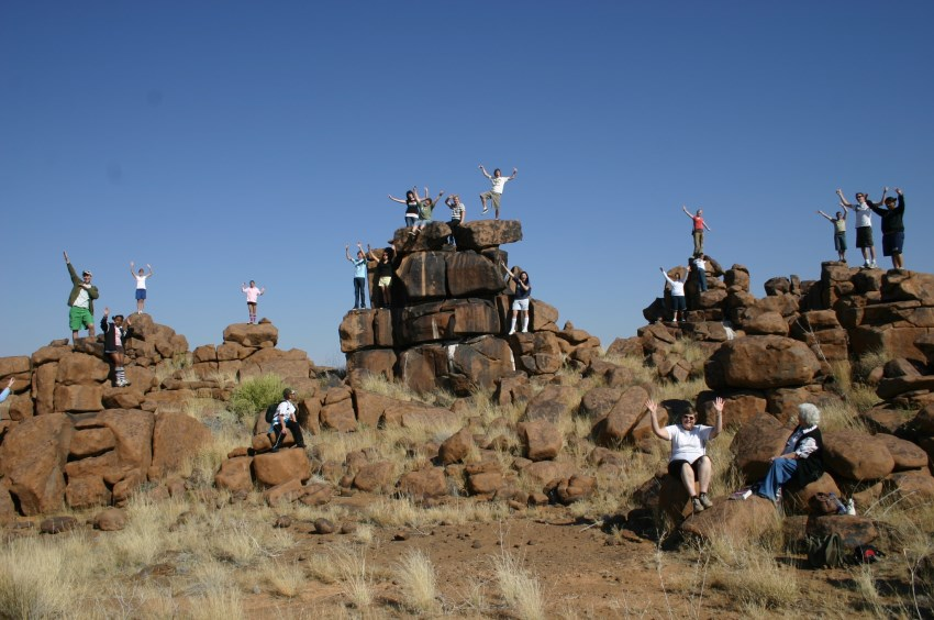 Giant's Playground in Namibia
