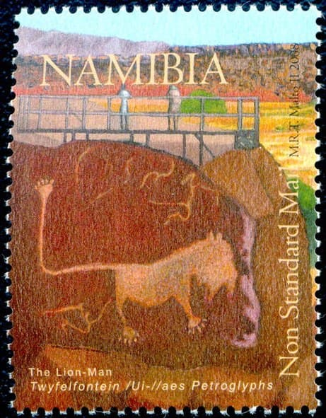 Twyfelfontein - engraved in Rock