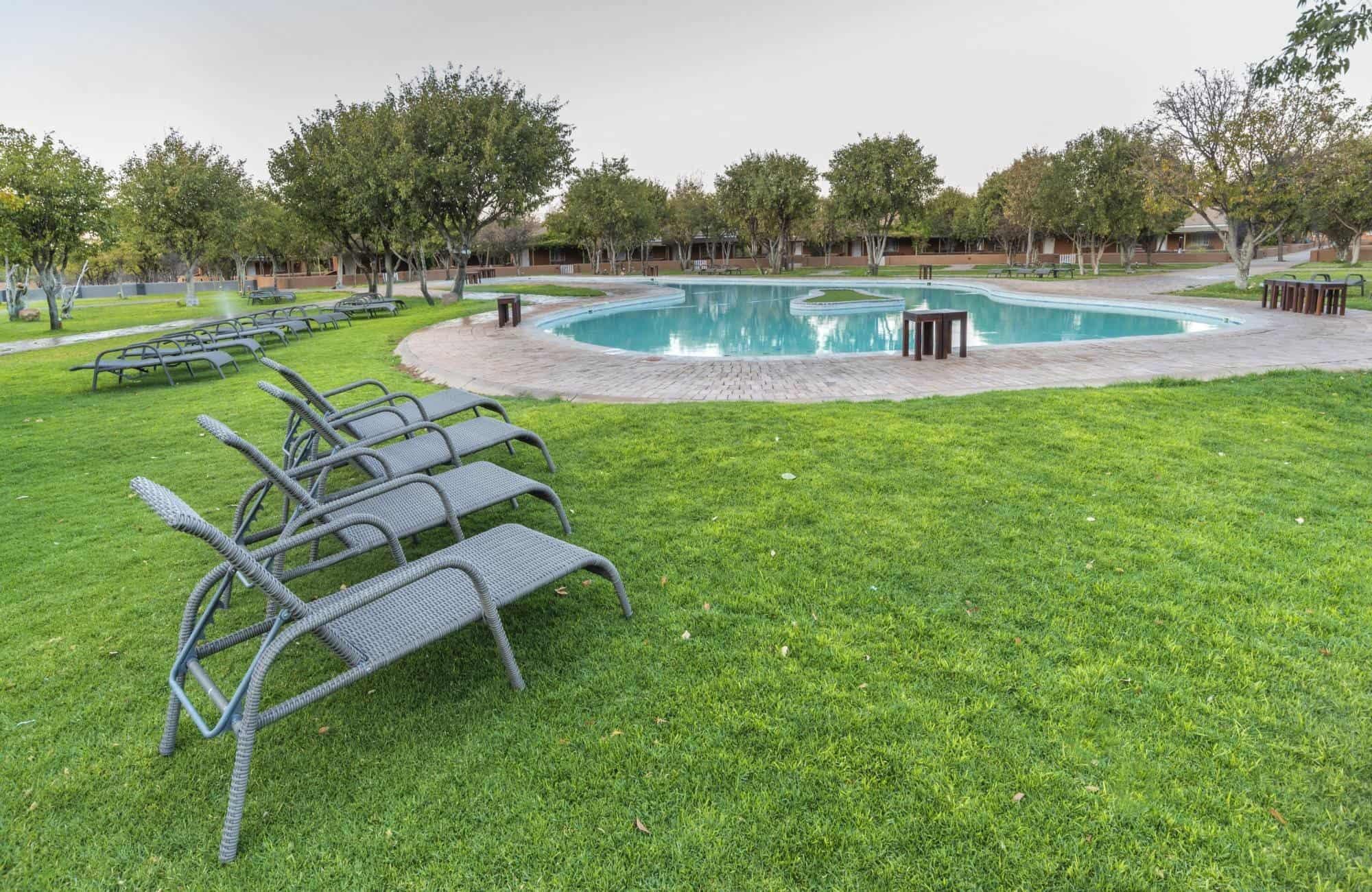 Damaraland pool side view