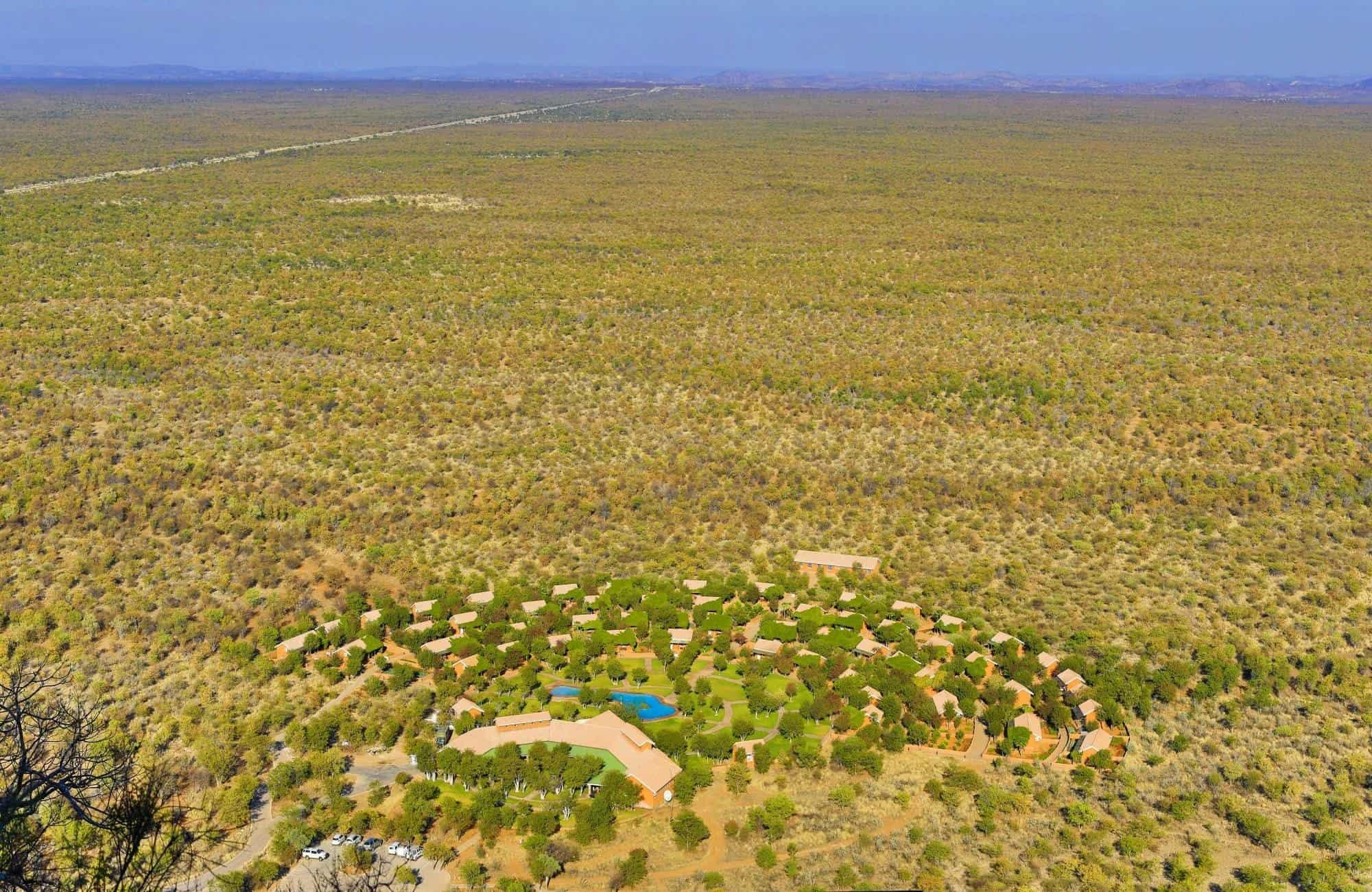Damaraland aerial view